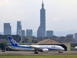 takaRJNSさんが、台北松山空港で撮影した全日空 787-8 Dreamlinerの航空フォト(飛行機 写真・画像)