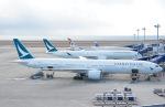 tamtam3839さんが、中部国際空港で撮影したキャセイパシフィック航空 A350-1041の航空フォト(飛行機 写真・画像)