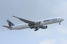 急行羽黒さんが、スワンナプーム国際空港で撮影したカタール航空 777-3DZ/ERの航空フォト(飛行機 写真・画像)