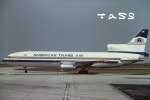 tassさんが、パリ シャルル・ド・ゴール国際空港で撮影したアメリカン・トランス航空 L-1011-385-1 TriStar 50の航空フォト(飛行機 写真・画像)