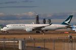 やつはしさんが、成田国際空港で撮影したキャセイパシフィック航空 A350-941の航空フォト(飛行機 写真・画像)