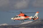 Tomochanさんが、函館空港で撮影した北海道防災航空隊 AS365N3 Dauphin 2の航空フォト(飛行機 写真・画像)