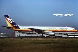 tassさんが、羽田空港で撮影した日本エアシステム A300B2K-3Cの航空フォト(飛行機 写真・画像)