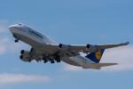たかしさんが、関西国際空港で撮影したルフトハンザドイツ航空 747-430の航空フォト(飛行機 写真・画像)