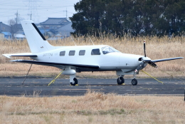 jun☆さんが、龍ケ崎飛行場で撮影した日本個人所有 PA-46-350P Malibu Mirageの航空フォト(飛行機 写真・画像)