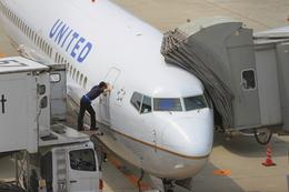 ふじいあきらさんが、広島空港で撮影したユナイテッド航空 737-724の航空フォト(写真)