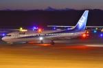 うとPさんが、釧路空港で撮影した全日空 737-881の航空フォト(飛行機 写真・画像)