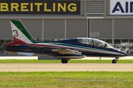 kanade/Ryo@S.O.R.A.さんが、シオン空港で撮影したイタリア空軍 MB-339PANの航空フォト(飛行機 写真・画像)