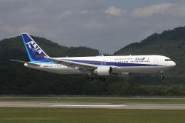 大和魂さんが、広島空港で撮影した全日空 767-381/ERの航空フォト(飛行機 写真・画像)
