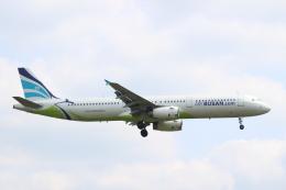 エアさんが、成田国際空港で撮影したエアプサン A321-231の航空フォト(飛行機 写真・画像)