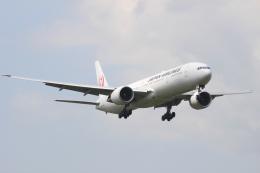エアさんが、成田国際空港で撮影した日本航空 777-346/ERの航空フォト(飛行機 写真・画像)