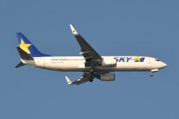 kuro2059さんが、中部国際空港で撮影したスカイマーク 737-8HXの航空フォト(飛行機 写真・画像)