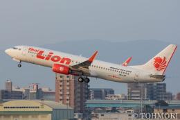 遠森一郎さんが、福岡空港で撮影したタイ・ライオン・エア 737-8GPの航空フォト(飛行機 写真・画像)