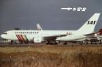 tassさんが、成田国際空港で撮影したスカンジナビア航空 767-283/ERの航空フォト(飛行機 写真・画像)