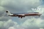 tassさんが、マイアミ国際空港で撮影したアメリカン航空 MD-82 (DC-9-82)の航空フォト(飛行機 写真・画像)