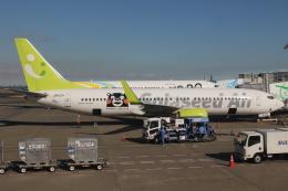 uhfxさんが、羽田空港で撮影したソラシド エア 737-86Nの航空フォト(飛行機 写真・画像)