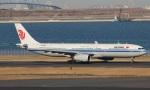 uhfxさんが、羽田空港で撮影した中国国際航空 A330-343Xの航空フォト(飛行機 写真・画像)
