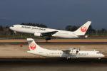 non-nonさんが、鹿児島空港で撮影した日本航空 767-346/ERの航空フォト(飛行機 写真・画像)