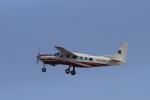 non-nonさんが、鹿児島空港で撮影したアジア航測 208 Caravan Iの航空フォト(飛行機 写真・画像)