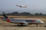 non-nonさんが、鹿児島空港で撮影したジェットスター・ジャパン A320-232の航空フォト(飛行機 写真・画像)