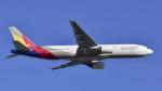 パンダさんが、成田国際空港で撮影したアシアナ航空 777-28E/ERの航空フォト(飛行機 写真・画像)