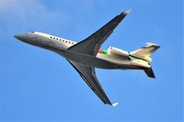 amagoさんが、関西国際空港で撮影したロシア個人所有 Falcon 8Xの航空フォト(飛行機 写真・画像)