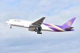 しめぎさんが、仙台空港で撮影したタイ国際航空 777-2D7の航空フォト(飛行機 写真・画像)