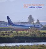 skycloudさんが、富山空港で撮影した全日空 737-881の航空フォト(飛行機 写真・画像)