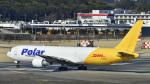 パンダさんが、成田国際空港で撮影したアトラス航空 767-306/ERの航空フォト(飛行機 写真・画像)