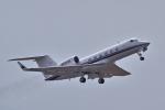 yabyanさんが、中部国際空港で撮影したプライベートエア G-IVの航空フォト(飛行機 写真・画像)