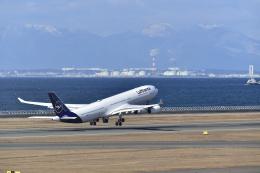 シャークレットさんが、中部国際空港で撮影したルフトハンザドイツ航空 A340-313Xの航空フォト(飛行機 写真・画像)