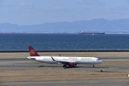 シャークレットさんが、中部国際空港で撮影した吉祥航空 A321-211の航空フォト(飛行機 写真・画像)