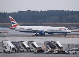 nontan8さんが、成田国際空港で撮影したブリティッシュ・エアウェイズ 787-9の航空フォト(飛行機 写真・画像)