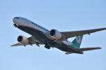 we love kixさんが、関西国際空港で撮影したエバー航空 777-F5Eの航空フォト(飛行機 写真・画像)