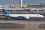 ぱん_くまさんが、羽田空港で撮影したガルーダ・インドネシア航空 777-3U3/ERの航空フォト(飛行機 写真・画像)