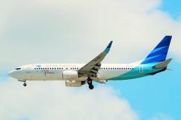 航空フォト:PK-GFH ガルーダ・インドネシア航空 737-800
