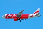 ちっとろむさんが、シンガポール・チャンギ国際空港で撮影したエアアジア・インドネシア A320-216の航空フォト(飛行機 写真・画像)