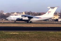 planetさんが、ベルリン・テーゲル空港で撮影したロシア空軍 Il-76/78/82の航空フォト(飛行機 写真・画像)