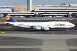 sky-spotterさんが、羽田空港で撮影したルフトハンザドイツ航空 747-830の航空フォト(飛行機 写真・画像)