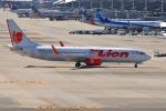 we love kixさんが、関西国際空港で撮影したタイ・ライオン・エア 737-8GPの航空フォト(飛行機 写真・画像)