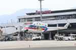 マッチャさんが、出雲空港で撮影した国土交通省 地方整備局 412EPの航空フォト(飛行機 写真・画像)