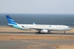 ドラパチさんが、中部国際空港で撮影したガルーダ・インドネシア航空 A330-343Xの航空フォト(飛行機 写真・画像)