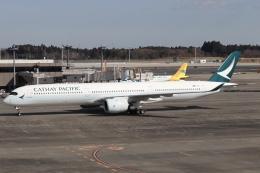 ドガースさんが、成田国際空港で撮影したキャセイパシフィック航空 A350-1041の航空フォト(飛行機 写真・画像)