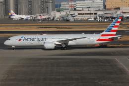TIA spotterさんが、羽田空港で撮影したアメリカン航空 787-9の航空フォト(飛行機 写真・画像)