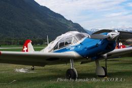 kanade/Ryo@S.O.R.A.さんが、シオン空港で撮影したAMPA Association pour le Maintien du Patrimoine Aéronautique Bf 108 Taifunの航空フォト(飛行機 写真・画像)