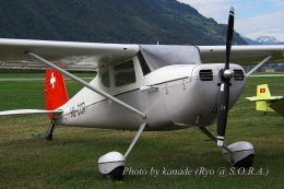 kanade/Ryo@S.O.R.A.さんが、シオン空港で撮影したAssociation HB-COR 140Aの航空フォト(飛行機 写真・画像)