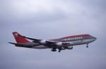 kumagorouさんが、成田国際空港で撮影したノースウエスト航空 747-451の航空フォト(飛行機 写真・画像)
