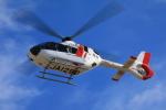 とらまるさんが、名古屋飛行場で撮影した中日本航空 EC135P3の航空フォト(飛行機 写真・画像)