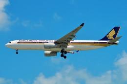 ちっとろむさんが、シンガポール・チャンギ国際空港で撮影したシンガポール航空 A330-343Xの航空フォト(飛行機 写真・画像)