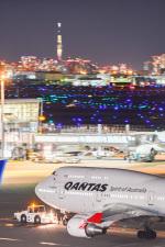 あっくんkczさんが、羽田空港で撮影したカンタス航空 747-438/ERの航空フォト(飛行機 写真・画像)